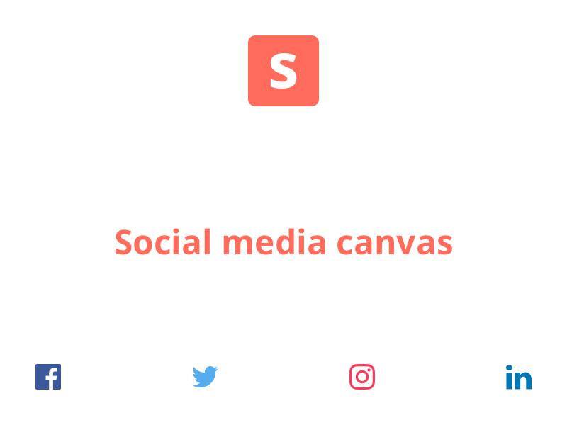 Social Media Canvas sharing share sizes dimensions template canva canvas media social social media