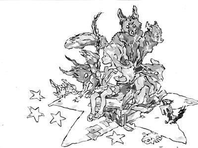 Star Star illustration storyboard artist storyboard drawing