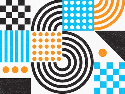 shapes and grids and stuff circles dots checkerboard lines shapes patterns layout design