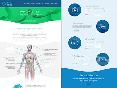 Preventative Health Doctors website medical 3d health clean ui section illustration icons webpage website design