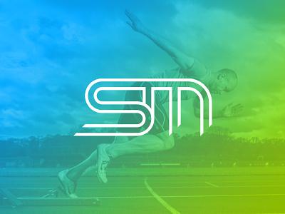 StandingMan Performance Training logo logo mark performance fitness sport branding logo design
