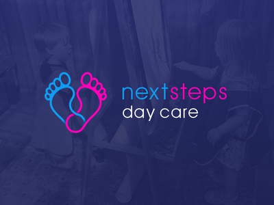 Next Steps Day Care Logo