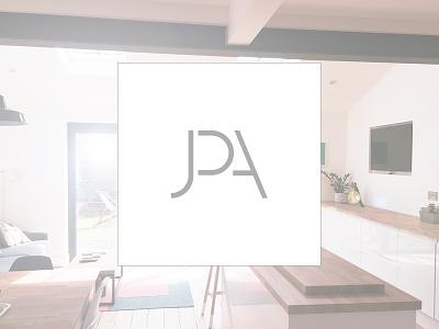 JPA logomark architecture graphic design logo mark branding logo design