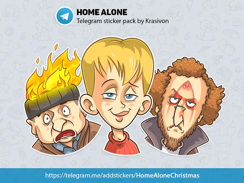 Stickers : Home Alone home alone stickers