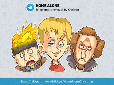 Stickers : Home Alone
