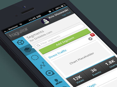 Web Application - Mobile Rendering responsive web design app flat rwd software