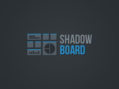 Shadow board logo