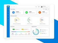 Flipkart Dashboard Concept