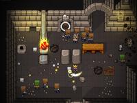 Pixels - Battle Keep game play