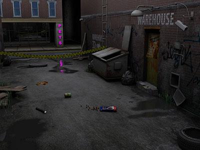 3D Feline Felony Game 3d max 3d render