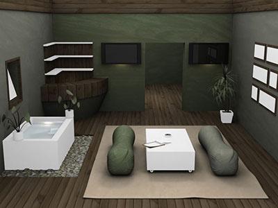 Interior Designers modelling animation 3d