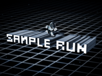 Sample Run - Splash Screen