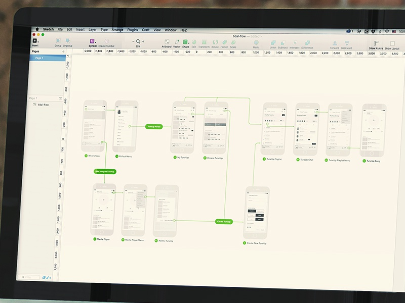 User Flow mobile app app flow user flow wireframes ux sketch