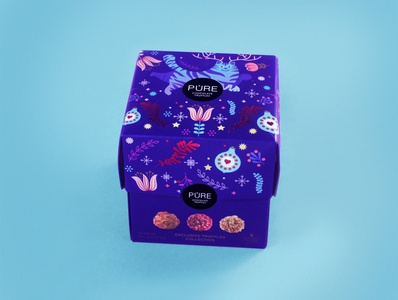 Christmas cat cat packagingdesign candy holiday christmas illustrations chocolate packaging