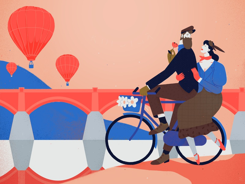 tweed run couple city event poster sport latvia cycling