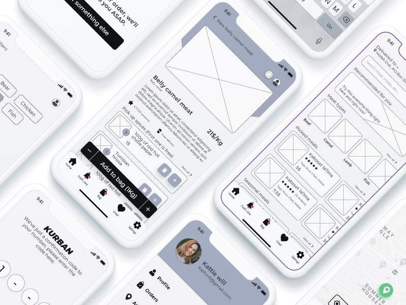 Kurban - ecommerce mobile app