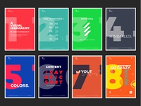 8Design posters