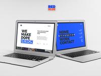 Redblue Website