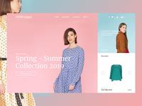 FEMME & FIERCE Website redesign