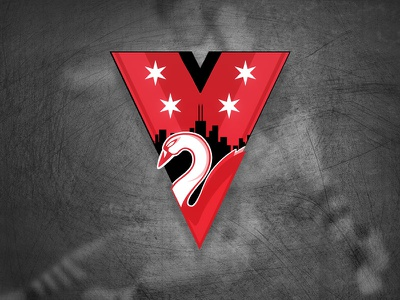 Chicago Swans Brand Identity  identity logo branding design brass designbrass vector chicago swans chicago