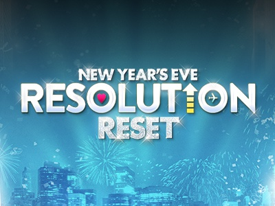 New Year's Eve - Resolution Reset