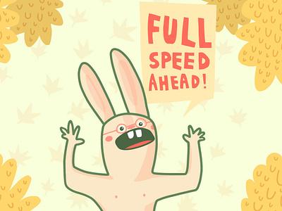 Full speed ahead illustrator vector illustration adobe draw illustration