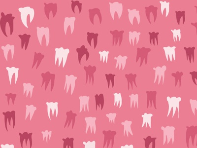 Teeth pattern photoshop pattern illustration vector illustration adobe draw