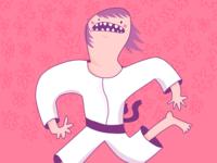 Judo Illustration