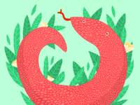 Falu Snake Illustration