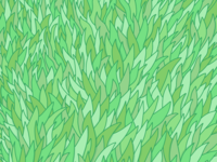 Grass pattern design