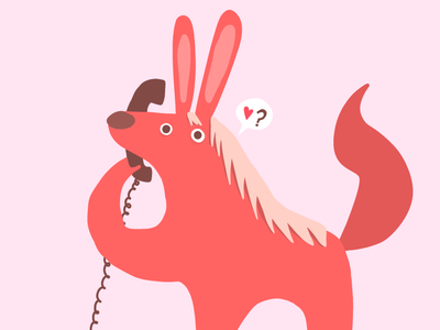 A bunny horse on the phone bunny animal drawing ipad pro cute adobe draw vector adobe illustrator illustrator drawing vector illustration illustration
