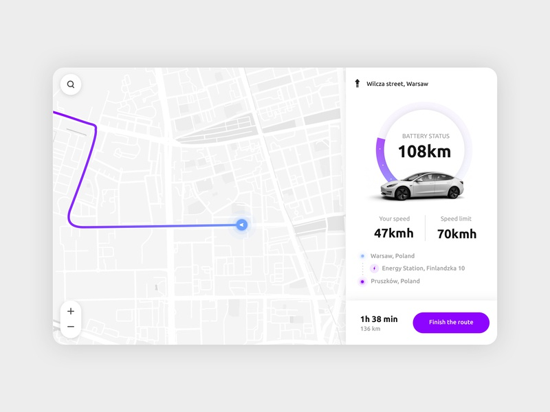 Charging station booking app tesla charging mapbox map system navigation vector ux ui kit ui oj ios interface icon experience estate detail design app applicaiton