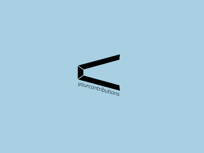 Yourcontributions logo ui ios trend illustration logo