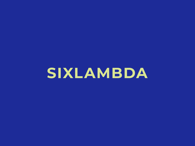 sixlambda logo ui branding logo