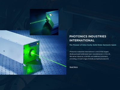 Article of Laser Manufacture Company white web ui technics product neon laser dotted clean