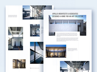 Blog Page Monumental Inc. website web ui preview corporate architecture minimal article blog