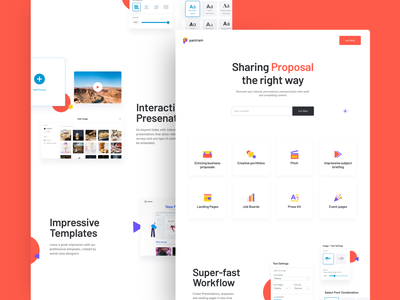 Beautiful Articles like Presentations gallery builder templates pitch webdesign landing illustration animation subject briefing job boards press kit event pages diagram document portfolio presentation