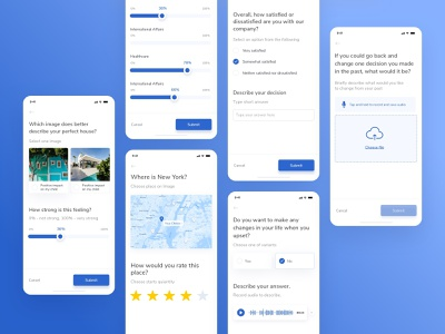 Survey functionality in SaaS application platform motivation members tracking care event survey filters schedule goal achievement task engagement plan application dashboard treatment healthcare ux ui