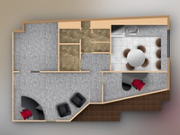 Law Office Graphic Floor Plan