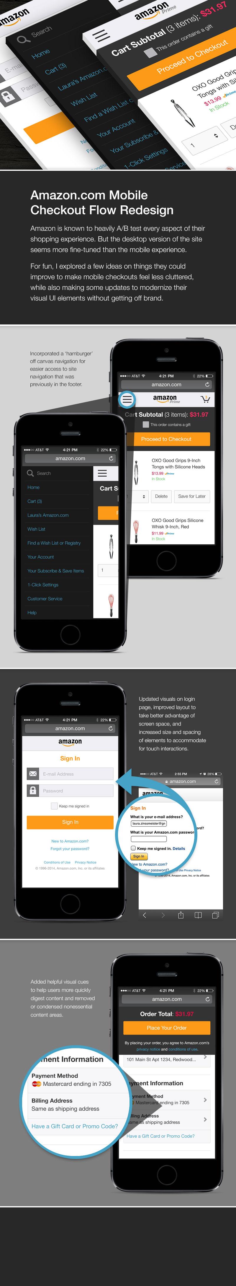Amazon checkout case study