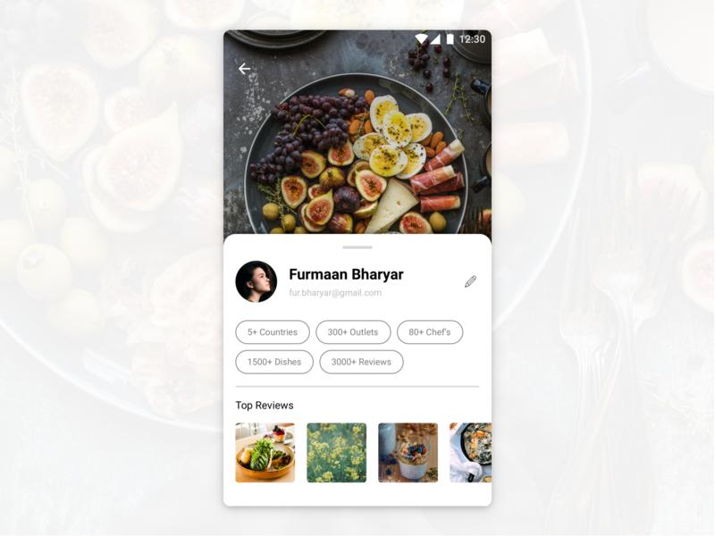 Profile Section dailyui profile card profile ux  ui ui user experience user center design