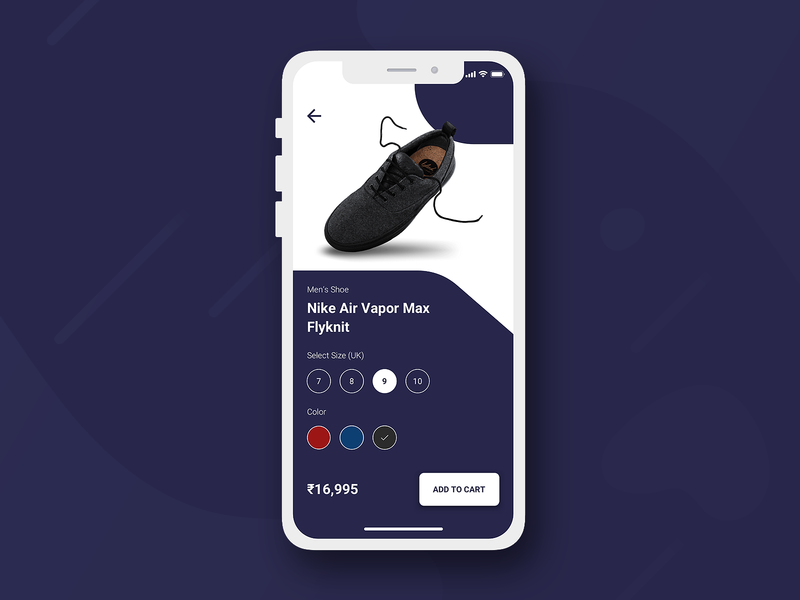 Product Details Page cartoon shoe daily 100 challenge dailyui product page product