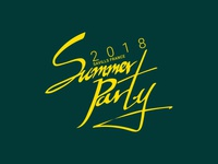 Savills France Summer Party 2018 - Logo Design