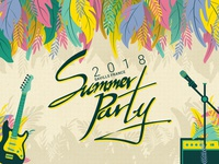 Savills France Summer Party 2018 - Main Art Design