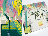 Savills France Summer Party 2018 - Invitation design