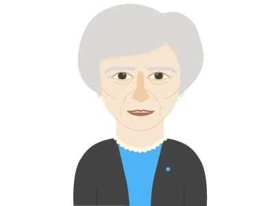 May theresa may character design illustrator flat design illustration