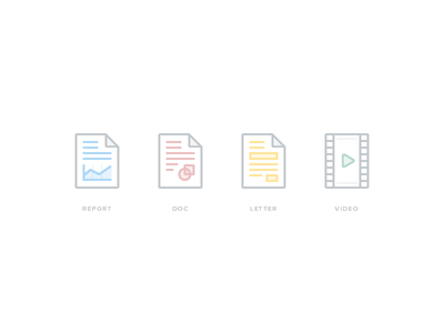 File Type Icons file svg light minimal white nutanix pdf word video icon