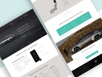 Faraday Future Landing Page