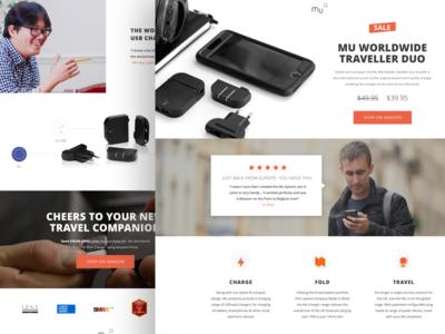 Mu | Landing Page website conversion design graphic design web design ux design taxes ppc marketing ui design visual design landing page