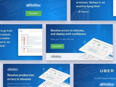 SaaS Google Display Ads error tracking landing page cro graphic design google ads ppc banner ads ux design ui design design developer saas
